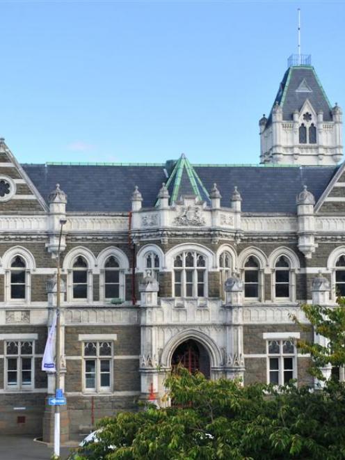 The Dunedin Courthouse. Photo by ODT.