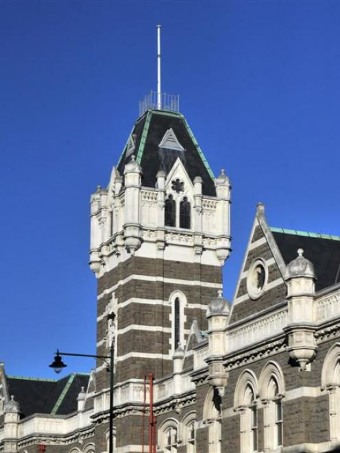 The Dunedin  courthouse. Photo by ODT.
