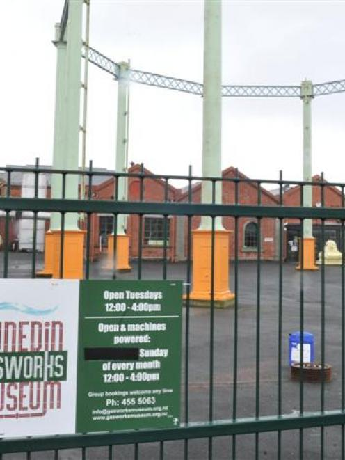 The Dunedin Gasworks Museum needs $2 million to ensure its survival, Dunedin city councillors...