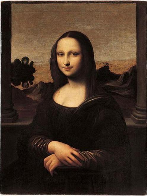 The fake Isleworth Mona Lisa.