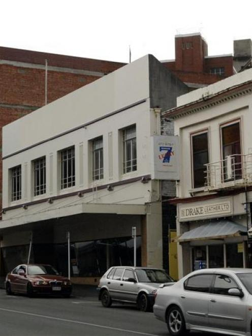 The former Furniture Court Building in Rattray St. Photo by Linda Robertson.