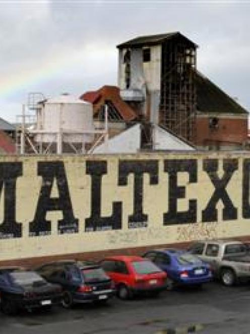 The former Maltexo factory site on the corner of Ward and Halsey Sts, in Dunedin, will be the...