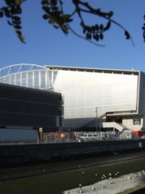 The Forsyth Barr Stadium. Photo by the ODT.