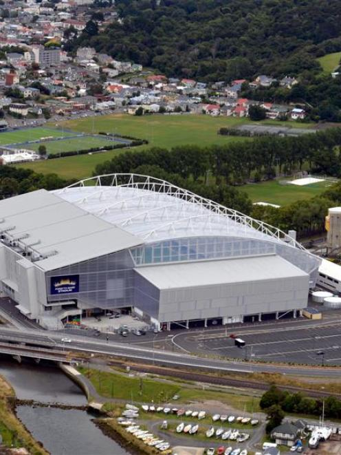 The Forsyth Barr Stadium, where the game will be played. Photo by ODT.