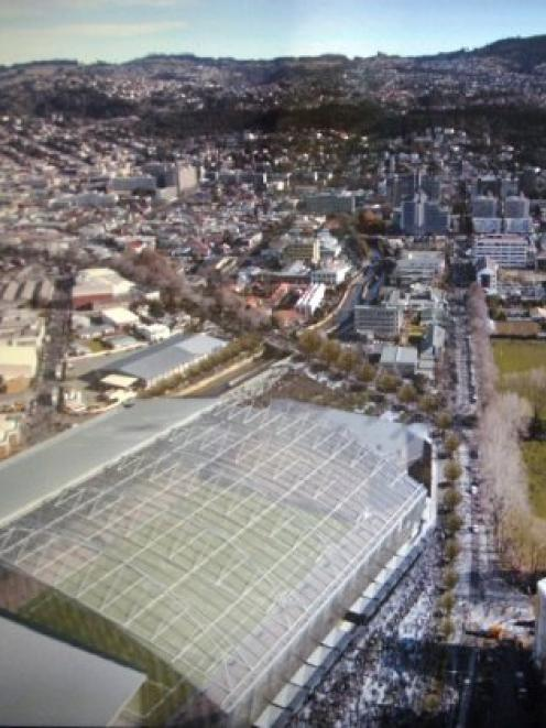 The Forsyth Barr Stadium will be New Zealand's first roofed, multipurpose performance venue....