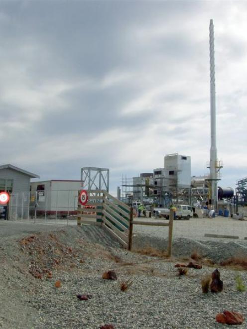 The future of Solid Energy's $25 million pilot briquetting plant near Mataura, pictured here...