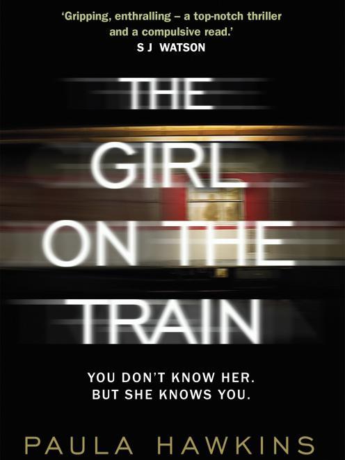 THE GIRL ON  THE TRAIN, Paula Hawkins, Transworld/Random Hous