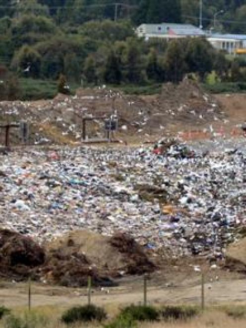 The Green Island landfill was the subject of debate at yesterday's DCC Annual Plan hearing.