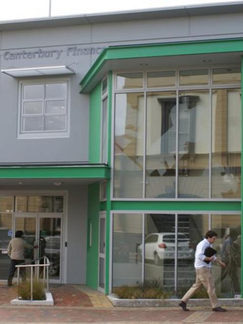 The head office of South Canterbury Finance in Timaru. Photo from The Courier.