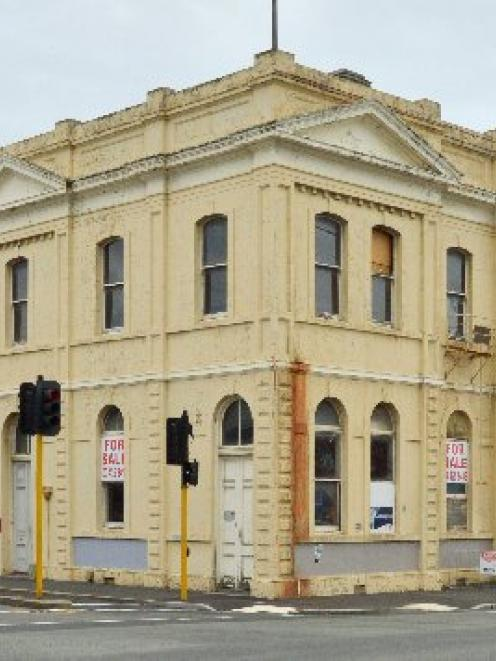 The historic Reed Building in central Dunedin,  is up for sale. Photo by Gerard O'Brien.