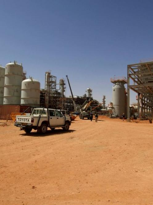 The In Amenas gas facility about 100km from the Algerian and Libyan border, the site of a hostage...