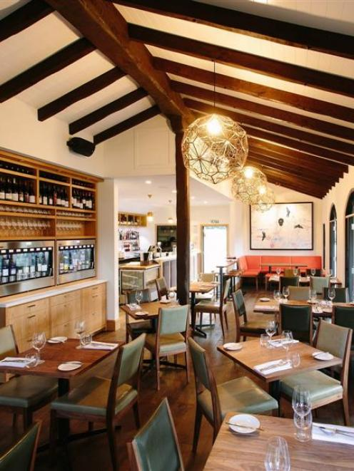 The interior of Bistro Gentil, in Wanaka. Photo supplied.