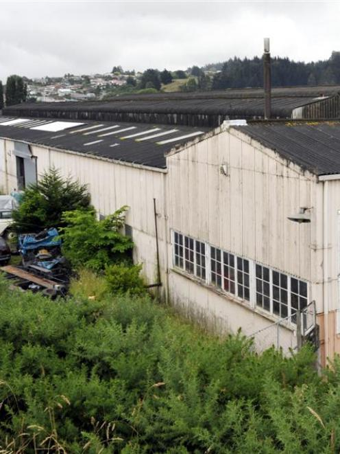 The Iron Roller Mills Building in Irmo St, Green Island. Photo by Gerard O'Brien.