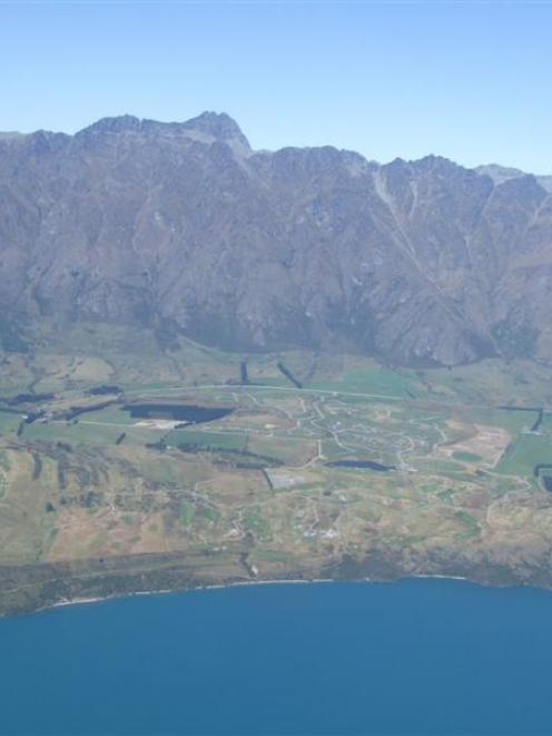 The Jacks Point development, near Queenstown, where Delta faces losing large amounts of money.