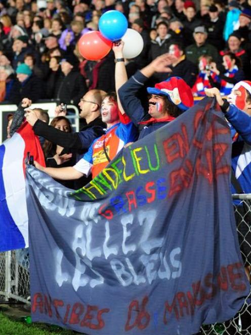 The June All Blacks-France test match at Carisbrook reaped a $5.3 million benefit for Dunedin....