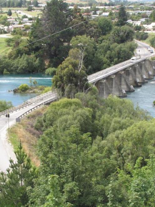 The Kawarau Falls Bridge.