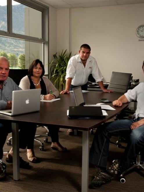 The Kershaw family (from left), David, Ricky, Mark and Josh, have launched an international...