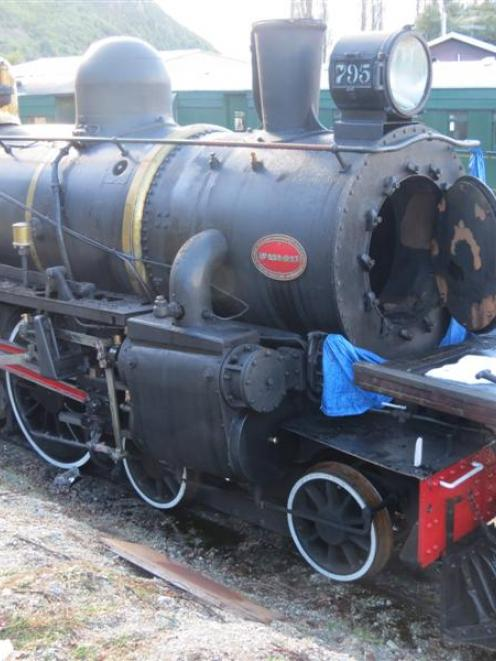 The Kingston Flyer. Photo by James Beech.