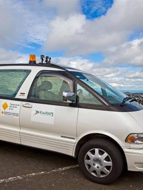 The KiwiRAP Urban camera van, operated by a China-based company, will soon be sweeping Dunedin's...