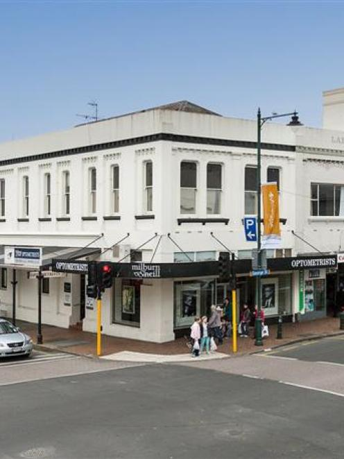 The Larent Building in George St, Dunedin. Photo supplied.
