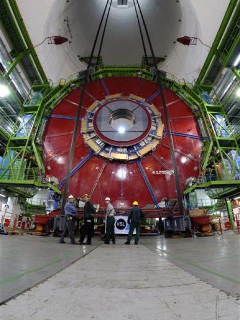 The Large Hadron Collider is an example of a collaborative effort and scientific advance on a...