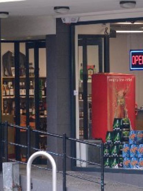 The Liquor Shop in North Rd. Photo Gerard O'Brien