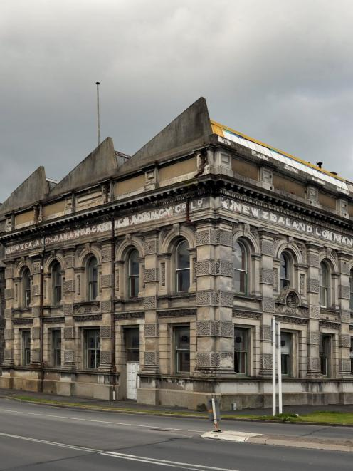 The Loan and Mercantile Building in Thomas Burns St, Dunedin. Photo by Gregor Richardson.