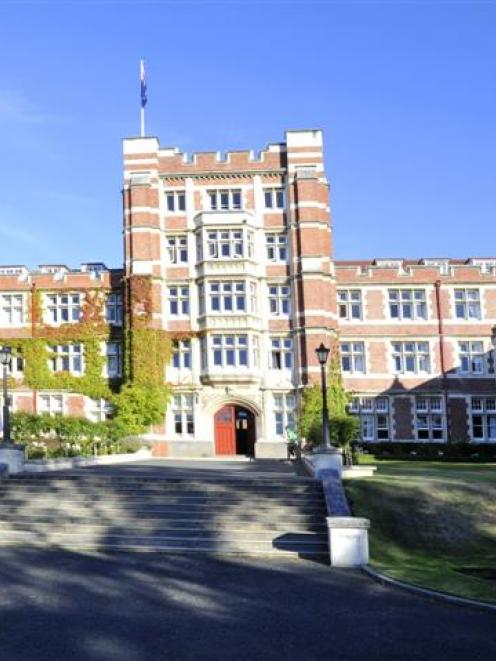 The main winners in Dunedin's heritage reuse awards announced last night: Knox College.