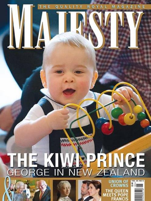 The Majesty magazine cover.