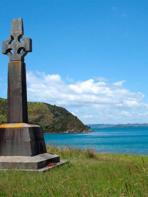 The Marsden Cross at Rangihoua. Photo supplied.