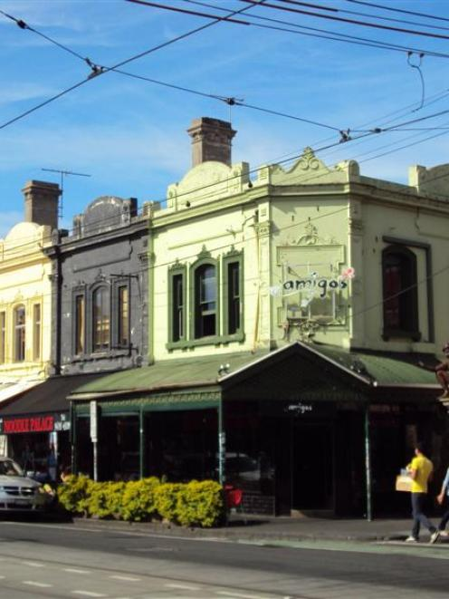 The Melbourne suburb of Fitzroy is a magnet for lovers of vintage clothing and offers lots of...