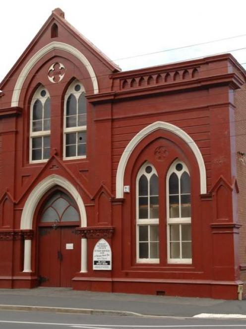The Methodist church on the corner of Wesley St and Hillside Rd, Dunedin. Photo by Linda Robertson.