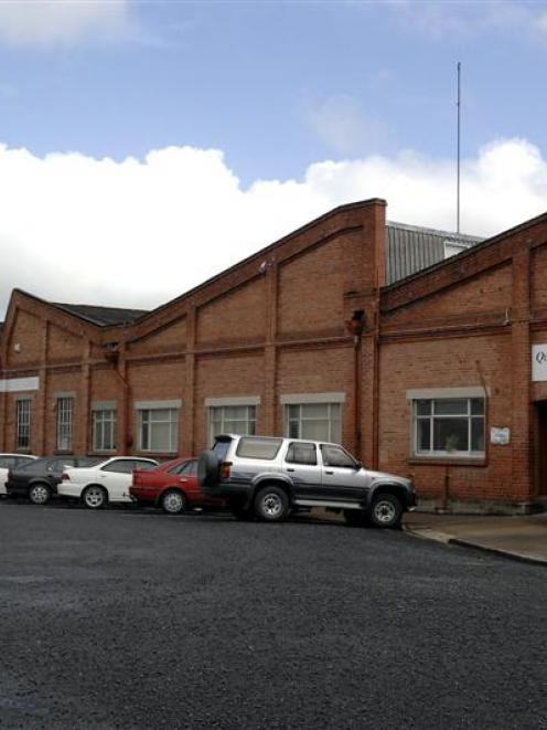 The Milton woollen mill in 2011. Photo by ODT.