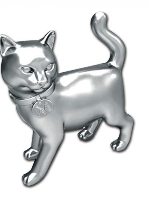 The new cat token for Monopoly. REUTERS/Hasbro, Inc