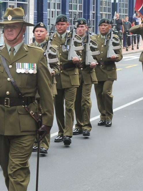 The new commanding officer of the 2/4 Battalion of the Royal New Zealand Infantry Regiment, the...