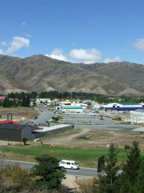 The new Nichol's Garden Centre in Cromwell (left), with the new Mitre 10 premises at right. Photo...