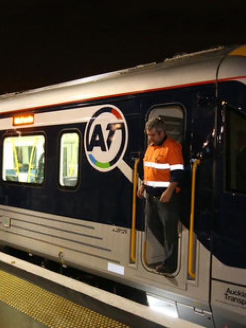 The new trains promise a smoother, quieter ride into the city for Auckland commuters. Photo NZ...