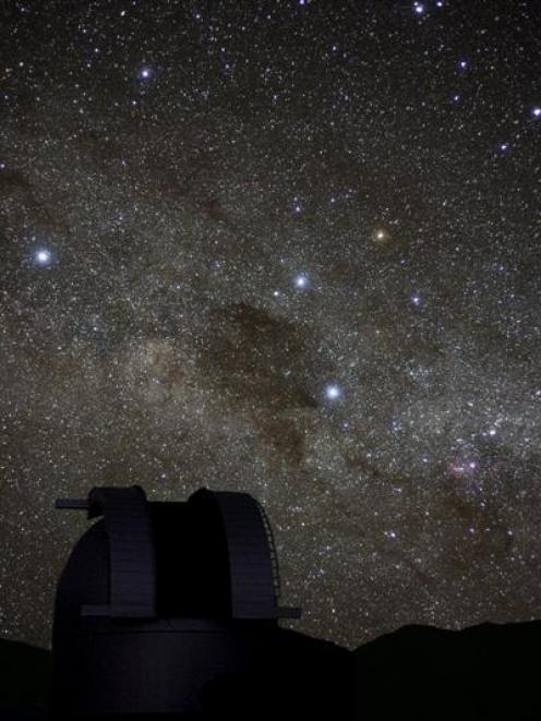 The night sky over the Mackenzie Country. Photo by Fraser Gunn.