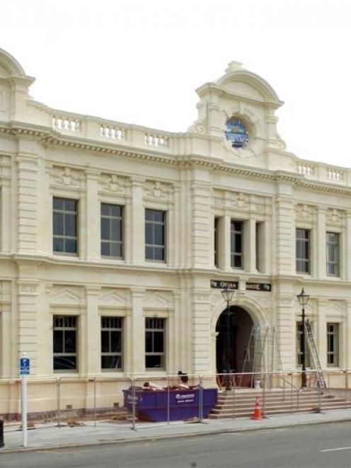 The Oamaru Opera House.