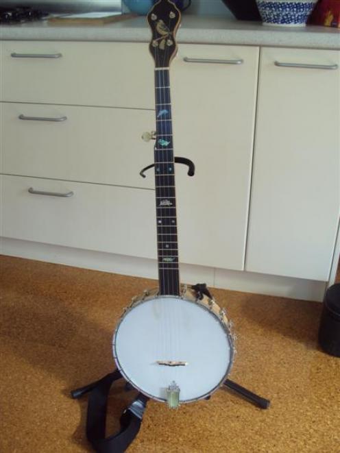 The open-back banjo.