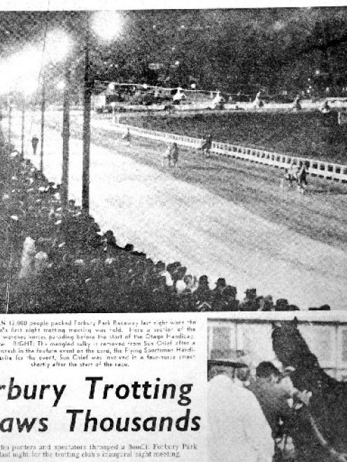 Racing 50 Years Under Lights At Forbury Park Otago Daily Times