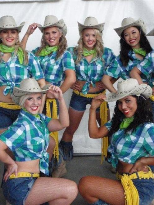 The Otago Dancers will be providing entertainment at the Southfuels Farmarama.  Photo supplied.