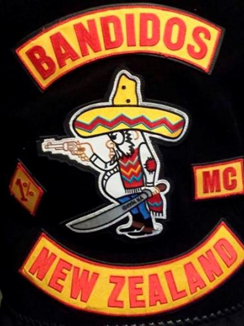 The patch of outlaw motorcycle gang Bandidos, which has attracted members from rival Dunedin...