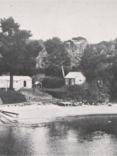 The Post Office on Ulva Island, in Paterson's Inlet, Stewart Island. - <i>Otago Witness</i>, 10.5...