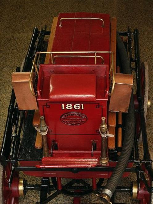 """The """"Pride of Dunedin"""" is  housed at the Otago Settlers Museum. Photo from <i>ODT</i> files."""