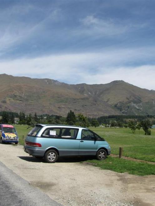 The Queenstown Lakes District Council has proposed the development of 94 nose-in car parks along...