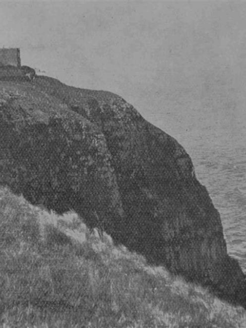 The residence of Mr E. B. Cargill, The Cliffs, St Clair. Photo from Otago Witness, April 15, 1903.
