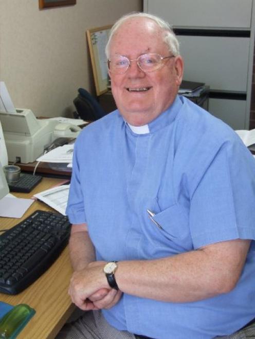 The Rev Graeme Munro. Photo by Sally Rae.