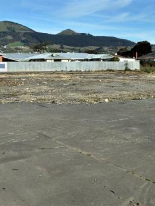 The site for the Mosgiel Countdown. Photo by ODT.