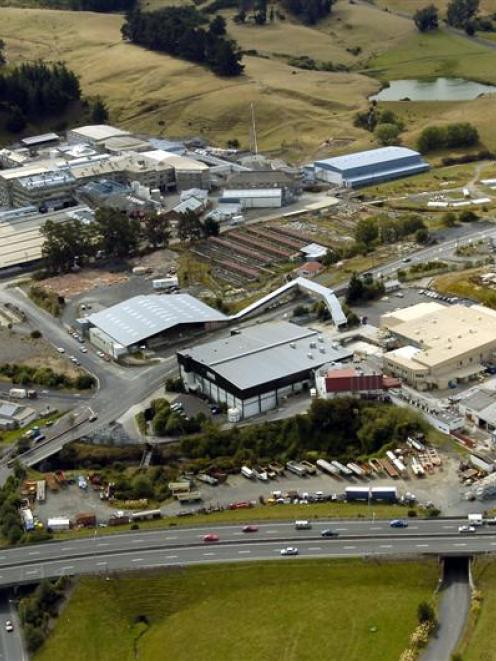 The site of the former Burnside freezing works, in Dunedin, which Auckland property developers...